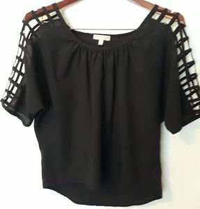 Stylish and super cute cold shoulder blouse
